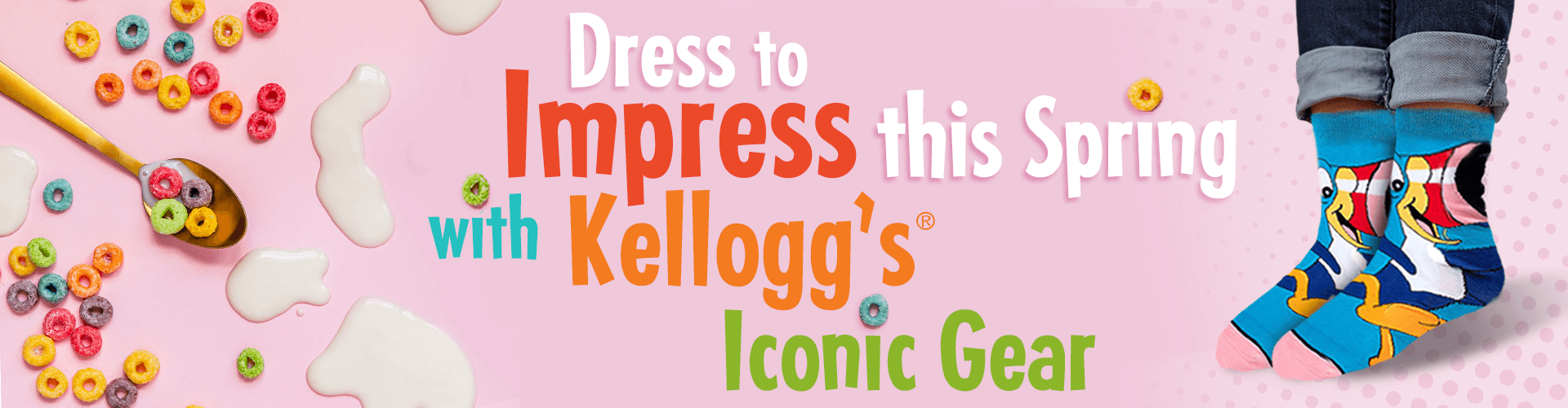 Dress to Impress this Spring with Kellogg's Iconic Gear